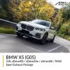BMW G05 X5 3.0L xDrive40i / xDrive45e / xDrive50i / M50i Sport Exhaust Package