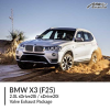 BMW F25 X3 2.0L sDrive20i / xDrive20i Valve Exhaust Package