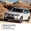 BMW F25 X3 2.0L xDrive28i Sport Exhaust Package