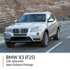 BMW F25 X3 3.0L xDrive35i Sport Exhaust Package