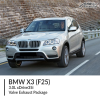 BMW F25 X3 3.0L xDrive35i Valve Exhaust Package