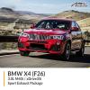 BMW F26 X4 3.0L M40i / xDrive35i Sport Exhaust Package