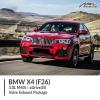 BMW F26 X4 3.0L M40i / xDrive35i Valve Exhaust Package