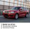 BMW F26 X4 3.0L xDrive30d / xDrive35d Valve Exhaust Package
