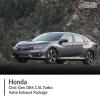 Honda Civic Gen 10th 1.5L Turbo Valve Exhaust Package