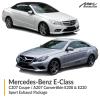Mercedes-Benz E Class C207 Coupe / A207 Convertible E200 & E220 Sport Exhaust Package