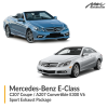 Mercedes-Benz E Class C207 Coupe / A207 Convertible E300 V6 Sport Exhaust Package