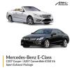 Mercedes-Benz E Class C207 Coupe / A207 Convertible E350 V6 Sport Exhaust Package