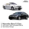 Mercedes-Benz E Class C207 Coupe / A207 Convertible E350 V6 Valve Exhaust Package