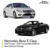 Mercedes-Benz E Class C207 Coupe / A207 Convertible E400 V6 Sport Exhaust Package