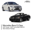 Mercedes-Benz E Class C207 Coupe / A207 Convertible E400 V6 Valve Exhaust Package