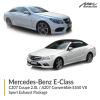 Mercedes-Benz E Class C207 Coupe 2.0L / A207 Convertible E550 V8 Sport Exhaust Package