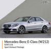 Mercedes-Benz E Class W212 E250 2.0L Sport Exhaust Package