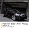 Mercedes-Benz E Class W212 E300 3.5L V6 Sport Exhaust Package