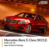 Mercedes-Benz E Class W212 E350 3.5L V6 Sport Exhaust Package