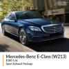 Mercedes Benz E Class W213 E180 1.6L Sport Exhaust Package
