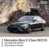 Mercedes Benz E Class 3.0L W213 AMG E43 4MATIC Valve Exhaust Package
