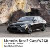Mercedes Benz E Class 3.0L W213 AMG E43 4MATIC Sport Exhaust Package