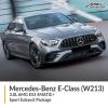 Mercedes Benz E Class 3.0L W213 AMG E53 4MATIC+ Sport Exhaust Package