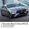 Mercedes Benz E Class 3.0L W213 AMG E53 4MATIC+ Valve Exhaust Package