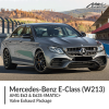 Mercedes Benz E Class W213 AMG E63 & E63S 4MATIC+ Valve Exhaust Package