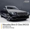 Mercedes Benz E Class 2.0L W213 E200 & 250 Sport Exhaust Package