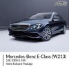 Mercedes Benz E Class 2.0L W213 E300 & 350 Valve Exhaust Package